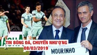 Tin Bóng Đá, Chuyển Nhượng 8/3/2019   Arsenal thua sốc, Mourinho sắp dẫn dắt Real Madrid