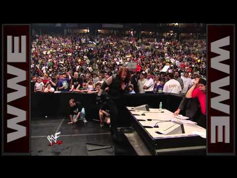 Triple H, Mr. McMahon & Shane McMahon vs. The Rock, The Undertaker & Kane - WWE Championship Six-Man thumbnail