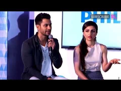 Soha Ali Khan, Kunal Khemu & Rannvijay Singh   at the Launch Latest Range of Philips TV   Part 4