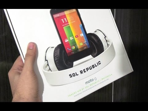Motorola Moto G Music Edition (Sol Republic) - Unbox