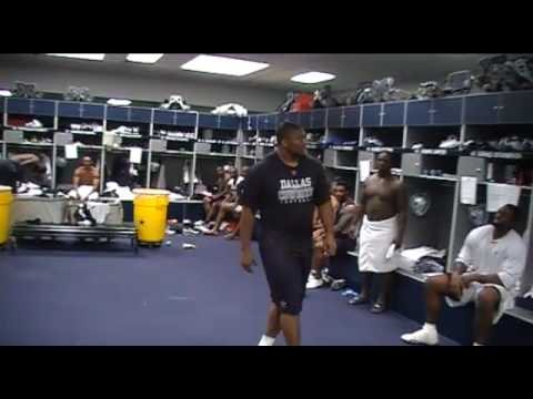 Who will be the next Dallas Cowboy on Dancing with the Stars... Stephen Bowen or Martellus Bennett? check out the boys dancing in the locker room... dont dec...