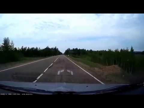 ДТП 12.06.2016 Иван озеро, улетел в кювет