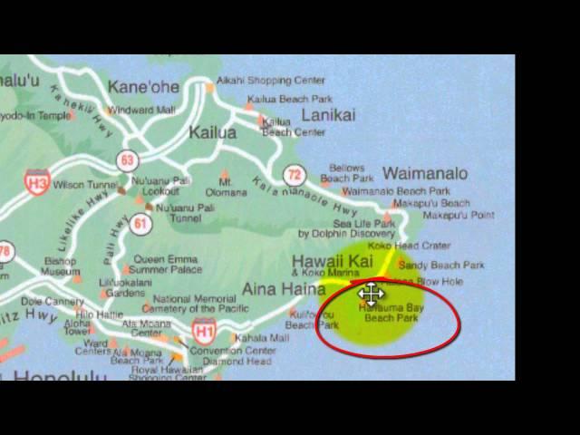maps of oahu hawaii