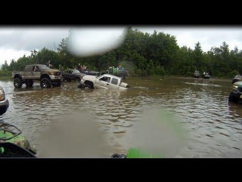 Mud Bog Tour Wheels A Churnin' 2012