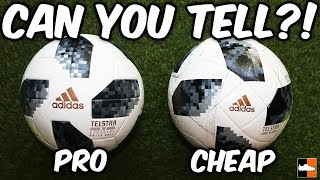 Spot The Difference?! 2018 World Cup Balls Tested