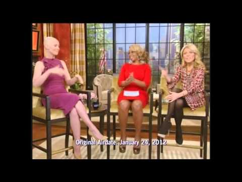 Cynthia Nixon on LIVE! with Kelly and Michael