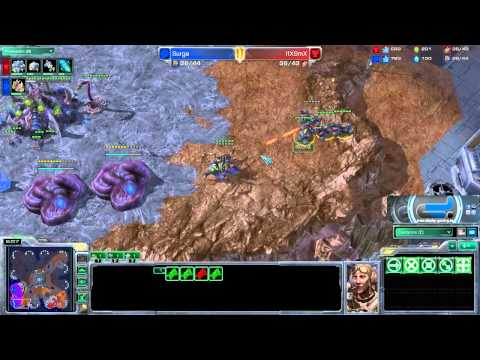 Surge vs DspSmX - Antiga ShipYard - Ladder Game - SC2 Replay FR