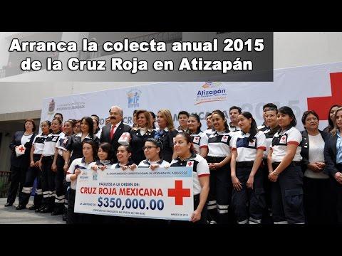 Arranca la Colecta de Cruz Roja 2015 en Atizapán