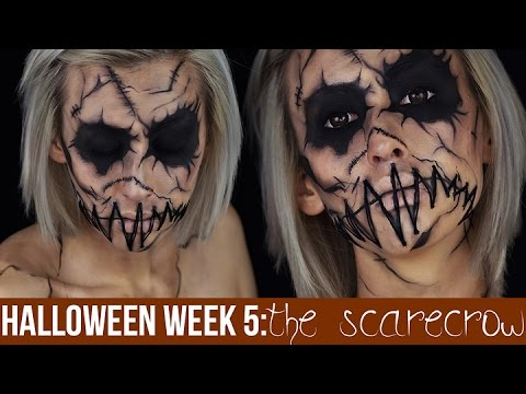 The Scarecrow Makeup