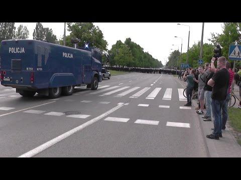 Starcia Z Policją Podczas Demonstracji W Gdańsku.
