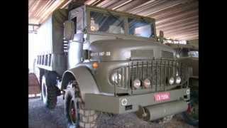 Caminhões militares antigos - FOTOS