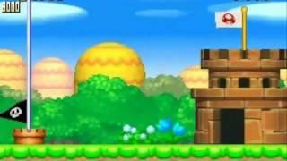 Guia New Super Mario Bros 100% Mundo 1 COMPLETO