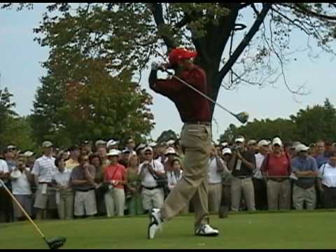 tiger woods swing vision. Tiger Woods New Swing - Driver