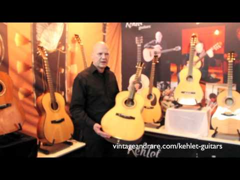 Finn Olafsson / Kehlet Guitars / Frankfurt Show 2011 / Vintage&RareTV