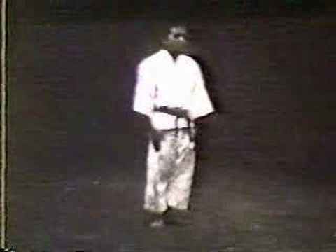 Matsubayashi kata from 1960's Part 1 0f 3