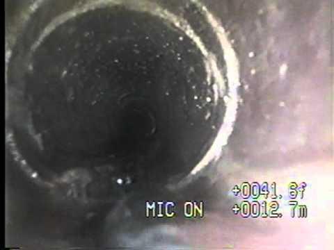 Download Lagu Plumbing Camera - shows pipe needs sewer line repair.mp3