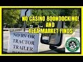 NO RV Boondocking In Cherokee NC. Flea Market Finds