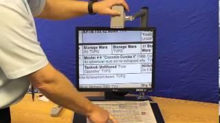 Freedom Scientific Onyx Deskset Portable Video Magnifier