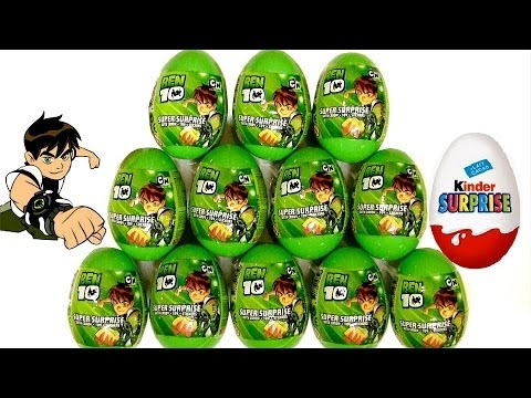 Ben10 Surprise Eggs Kinder