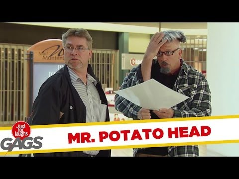 Real Life Mr Potato Head Prank