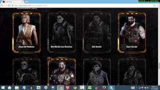 COMO ABRIR Y COMPRAR PACKS DE GEARS OF WAR 4 DESDE LA PC/CELULAR