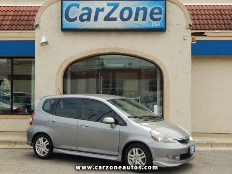 2007 Honda Fit Used Cars Baltimore Maryland