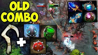 Levkan PUDGE Old Combo - Dota 2 Patch 7.07