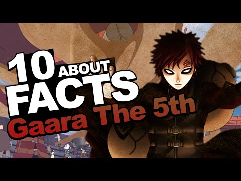 "10 Facts About Gaara You Should Know!!! ""Naruto Shippuden Facts"" w/ ShinoBeenTrill thumbnail"