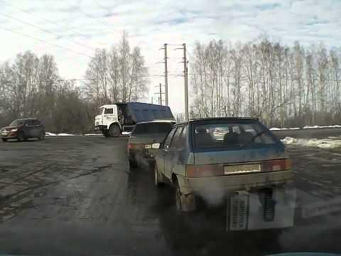 ДТП на пересечении .