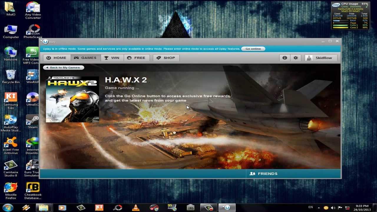 Трейнер к игре tom clancy`s hawx 2 бесплатно