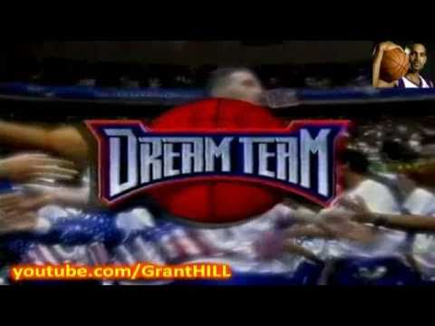 Grant Hill - Dream Team & All-Star selection (NBA Action 1996)