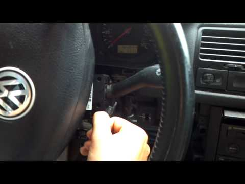 Ignition control switch on 2000 jetta tdi