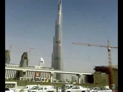 Burj Dubai from Sheikh Zayed Road