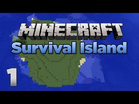Minecraft Xbox: Lets Play - Survival Island Part 1 [XBOX 360 EDITION] - W/Commen
