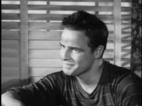 rare marlon brando screentest youtube