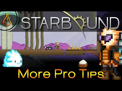 Starbound More Pro Tips