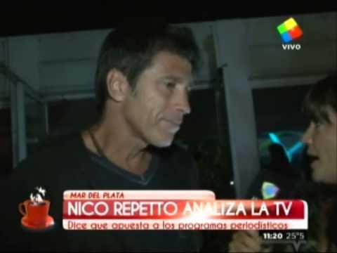 Nico Repetto y su vuelta a la TV