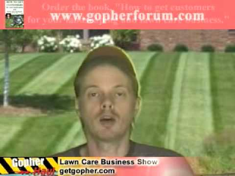 Commercial lawn care contract bid example. GopherHaul 61 Lawn Care Software Show