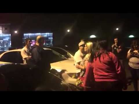 I'm From Ari-mother Fucking-zona!! Crazy Car Meet Fight video