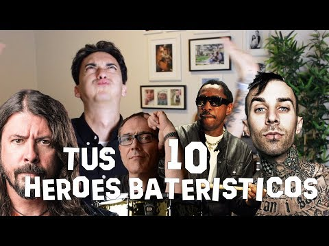 Tus 10 Héroes Bateristicos!