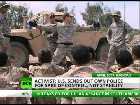 US wants world police after blowing millions on MidEast 'occupation'