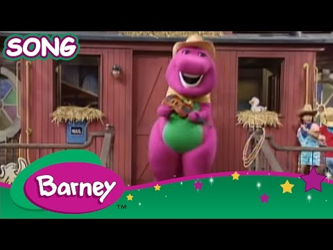 Barney: Old Macdonald Live Action video