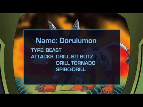 Digimon Fusion Data Files: Dorulumon video