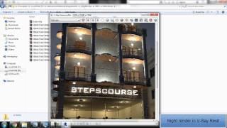 Download ريفيت معماري مستوي متقدم مع كورس مراحل المعماري (الاضاءة الليليه علي فيراي الريفيت ) revit v-ray 3Gp Mp4