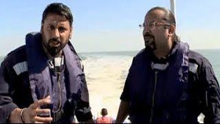 Jai Hind: Rocky and Mayur sailing aboard the warship INS Nashak
