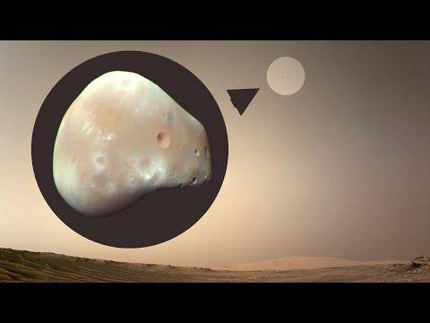 Marte: Perseverance captura su primera luna marciana