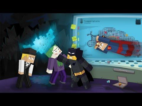 MineCraft Batman: The Dark Night (Animated Comedy)