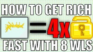 HOW TO GET RICH FAST WITH 8 WLS!!! (WORKING 2017)
