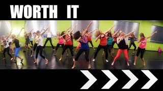 """""""Worth It"""" by Fifth Harmony.  SHiNE DANCE FiTNESS"""