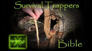 Survival Trappers Bible Part 7 Spring Pole Peg Snare